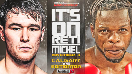 Battle of Alberta, Devin Reti, Flavio Michel, Dekada, KO Boxing